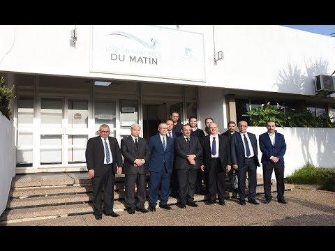 Video : Mohamed Laarej en visite aux Imprimeries Le Matin