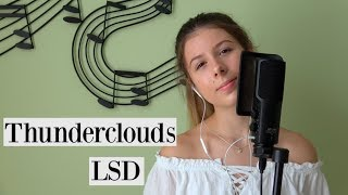 LSD - Thunderclouds (Ashley Sienna Cover)