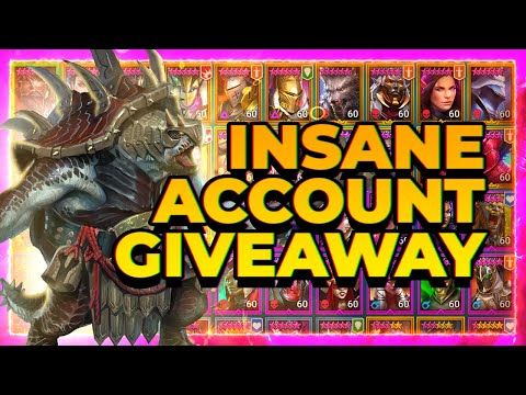 RAID Daily Jan 20 | INSANE Account Giveaway!