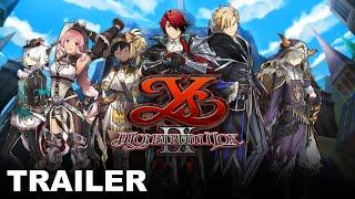 Ys IX: Monstrum Nox Character Trailer