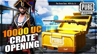 Biggest Crate Opening Of My Channel! 10000 UC Pirate Crate Opening Pubg Mobile   Future Gaming