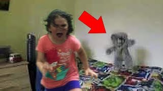 5 Creepy Dolls MOVING: Haunted Dolls Caught On Tape!