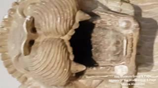 اسود العراق البابلية  في المتحف العراقي تاريخها 4 آلاف سنة  Babylonian lions iraq 2000 B.C