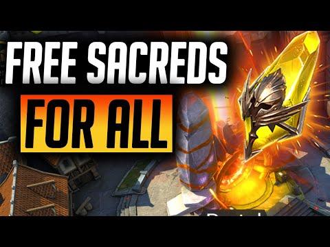 4 FREE SACREDS IN 35 DAYS! | Raid: Shadow Legends