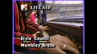 The Style Council - You're The Best Thing (MTV - Live Aid 7/13/1985)