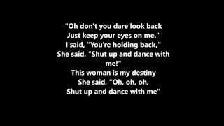 Shut Up and Dance Lyrics- Walk the Moon