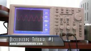 Oscilloscope Tutorial Part 1/3 - What is an oscilloscope?