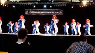 The clowns (qualification) - QUICK DANCE Novi Knezevac Serbia
