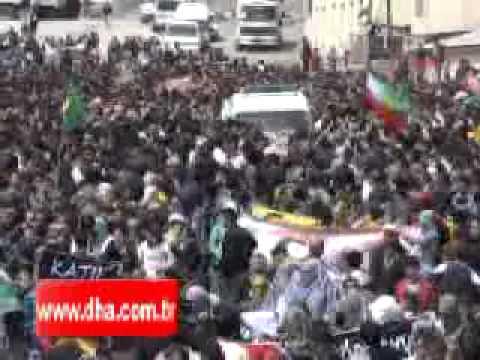 HPG Gerillası Adem Aşkan'ın (Canşêr Çempîrî)  Cenaze Töreni