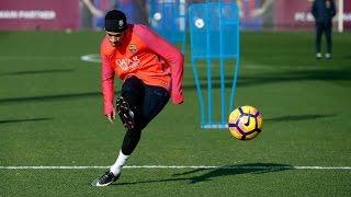 Neymar Jr. wows teammates in training - 2017 | HD