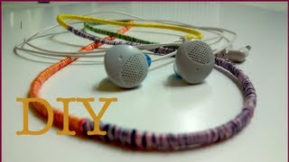 DIY Personalised Headphones with Thread!