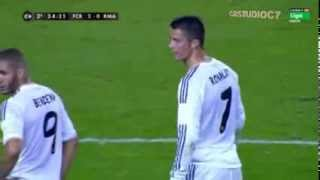 Barcelona Vs Real Madrid - Cristiano Ronaldo 13/14 ft. Martin garrix - Wizard