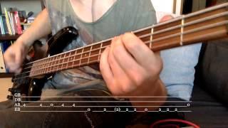 Guns N' Roses - Dead Horse [bass cover + TABS]