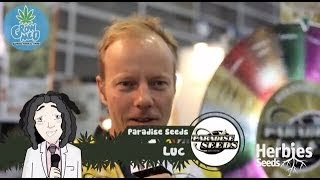 Herbie Interviews Paradise Seeds