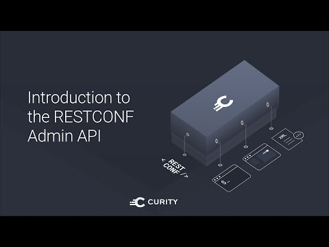 Introduction to the RESTCONF Admin API