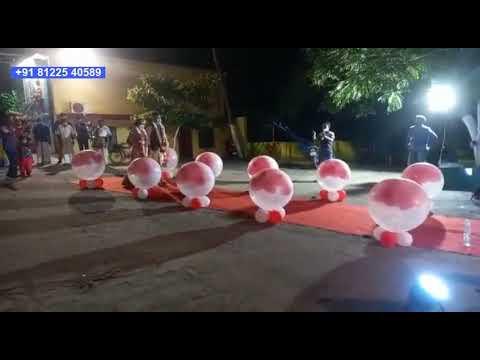 Balloon Entry Digital Wedding +91 81225 40589