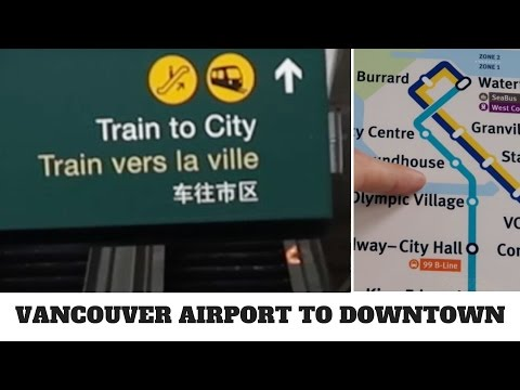 Vancouver Airport (YVR) to Downtown - Cheap and Easy!
