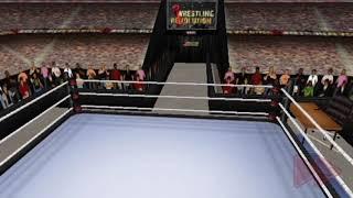 Wrestling Revolution 3D - Shinsuke Nakamura Entrance (NJPW theme edit) /w crowd chant & cheer