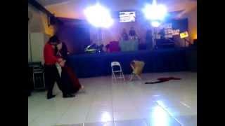 Aisha Dincer e Samuel Paula - Performing Zouk Divas Brazilian 2013