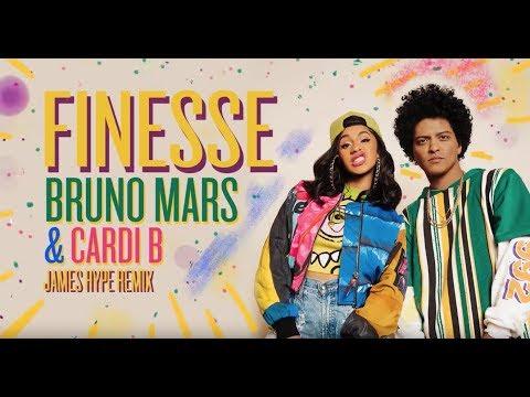 Bruno Mars - Finesse (James Hype Remix) [feat. Cardi B]