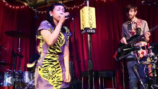 "Little Dragon performing ""Ritual Union"" Live at KCRW's Apogee Sessions"