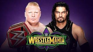 WWE: WrestleMania 34 - Theme Song for Brock Lesnar vs Roman Reigns (Custom)