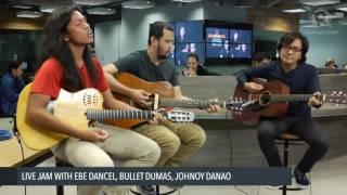 Ebe Dancel, Johnoy Danao, Bullet Dumas sing Sugarfree's 'Burnout'