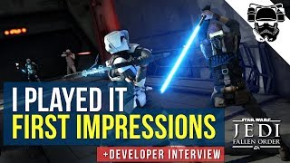 I Played Star Wars Jedi: Fallen Order - First Impressions | Gameplay, Combat, Force Powers & More