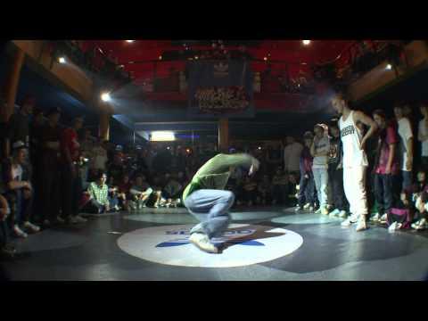 Cheerito (Evolvers) vs Uzi Rock (Tatanaka crew)