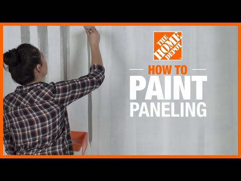 How to Paint Paneling