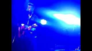 Etham Basden singing Breakeven- The Script in Islington 12/05/13