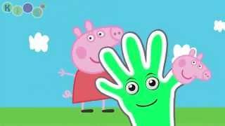 Peppa Pig, Pocoyo, Pokemon, Mickey Mouse, Masha Finger Family   Nursery Rhymes   KidsW