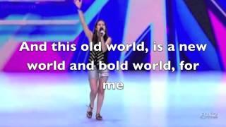 Carly rose sonenclare Feeling good (audition) lyrics