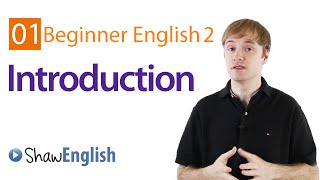 Beginner English Introduction