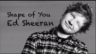 Ed Sheeran -Shape of You acoustic karaoke HD