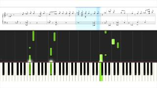 BTS (방탄소년단) - I NEED U - Piano Tutorial