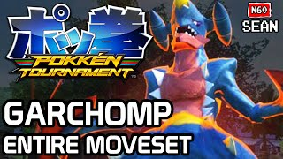 Pokken Tournament: Garchomp ENTIRE MOVESET & FINISHER