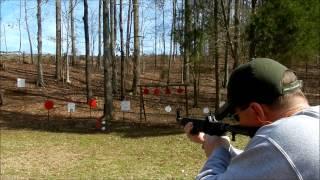 Glock 50 Round Drum  Magazine + Kel-Tec Sub 2000 9mm = AWESOME