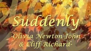 suddenly - Olivia newton john with lyrics