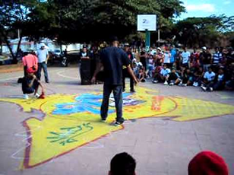 Escena Bboy Nicaragua – Eliminatorias Nica Killed The Beat 2011- Bboy-Gringo  Vs Bboy-Jreborn