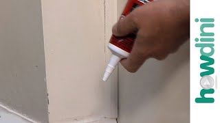 Caulking Tips: How to Caulk a Crack in Your Wall