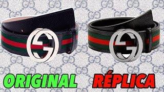 Cinturón Gucci Original Vs Réplica