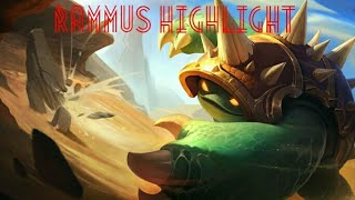 Highlight Rammus : protect teemo !