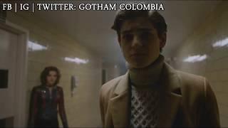 Gotham 3x22: Bruce and Selina discuss at the hospital - Subtitulado