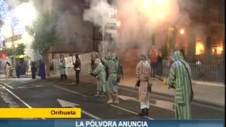 La pólvora anuncia los días grandes de Orihuela