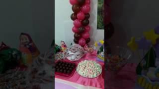 Masha e o urso aniversario