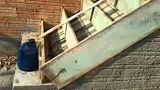 Como fazer escada de concreto;