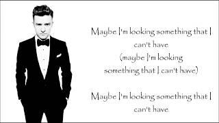 Justin Timberlake - Say Something ft. Chris Stapleton [LYRICS]