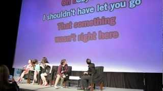 "Selena Gomez, Ashley Benson and Rachel Korin sing ""Hit Me Baby One More Time"" at SXSW (HD)"