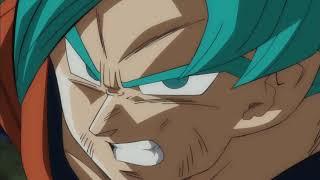 Goku Kame hame ha vs Zamas fusión irá divina español latino HD